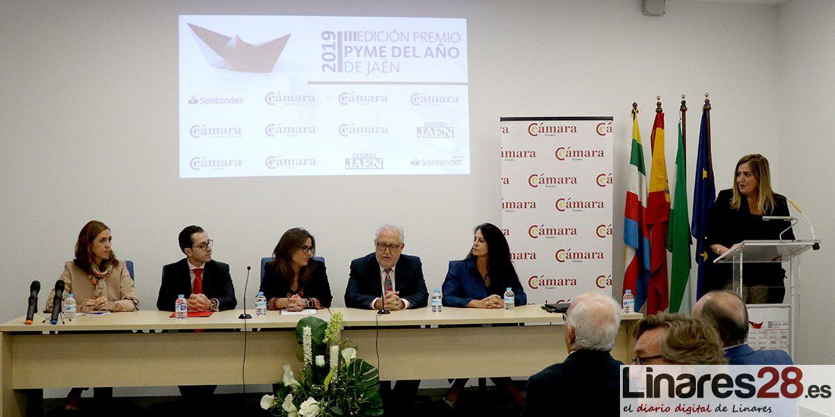 VÍDEO | La empresa linarense 'Ortiz & Reed' premio Pyme del Año 2019 de Jaén