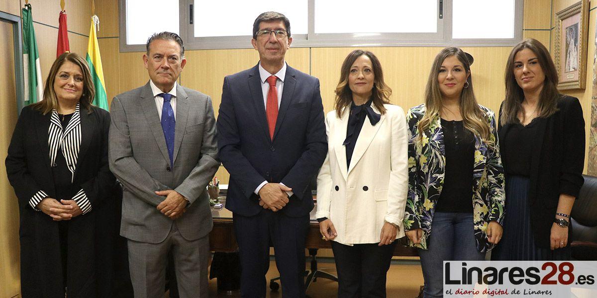 VÍDEO | Ayuntamiento y Junta hablan ya de proyectos concretos de la ITI en Linares