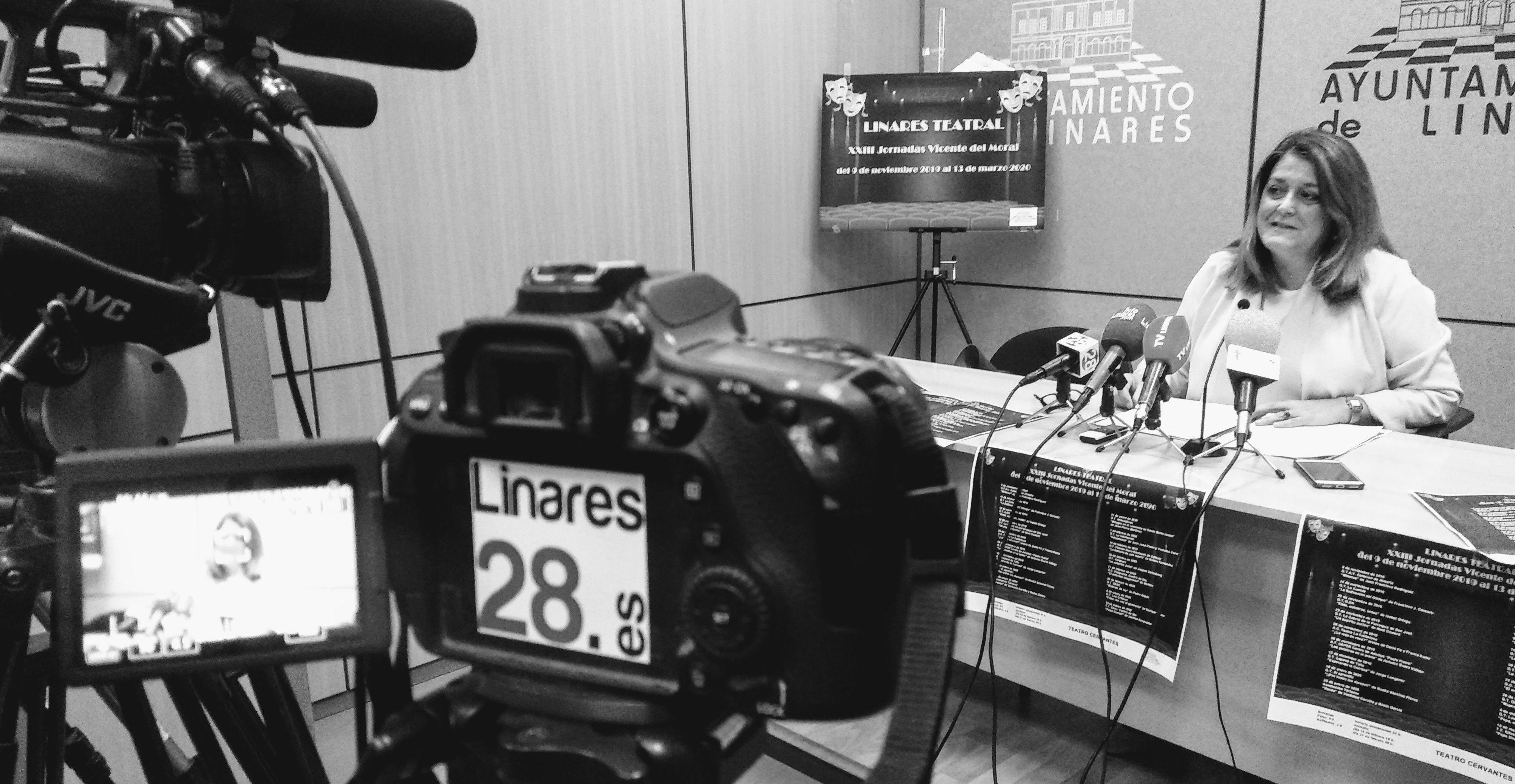 ESTÁ PASANDO | En estos momentos presentación de las jornadas 'Linares Teatral'