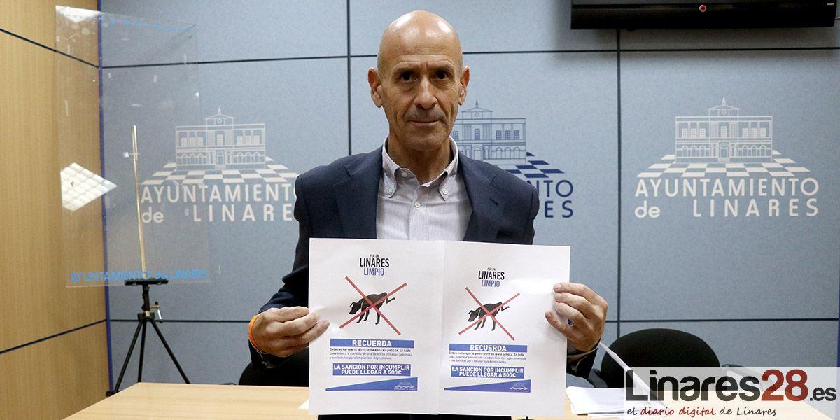 VÍDEO | Linares lanza una campaña de información sobre la limpieza de deyecciones de animales