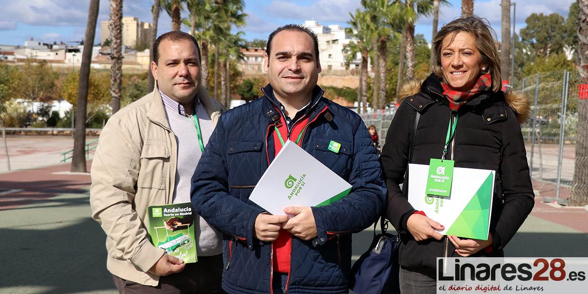 VÍDEO | Andalucía Por Sí (AxSí) cierra su campaña provincial en Linares