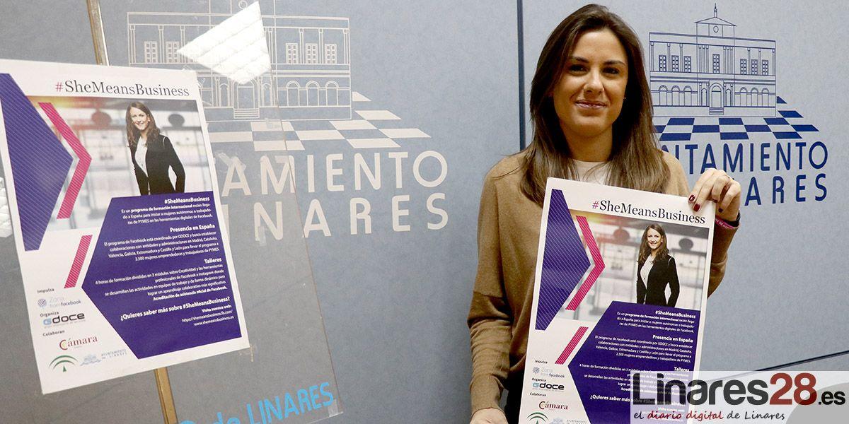 VÍDEO | Linares apuesta por la formación de las mujeres emprendedoras a través de la jornada #SheMeansBusiness
