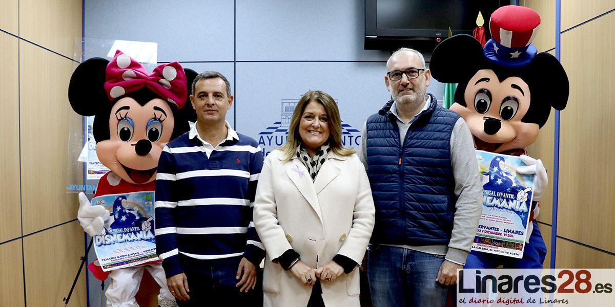 VÍDEO | El musical 'Disnemanía' llega en diciembre a Linares