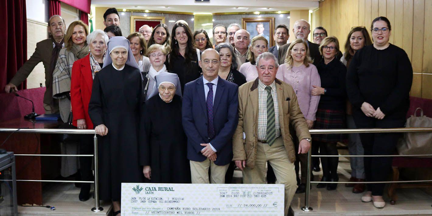 Varias entidades linarenses se benefician de la acción soilidaria del Colegio de Abogados de Jaén