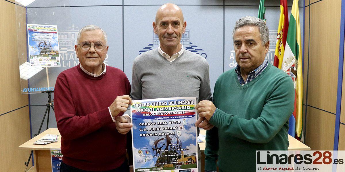 VÍDEO | Baloncesto de primera para el 'Trofeo Ciudad de Linares'
