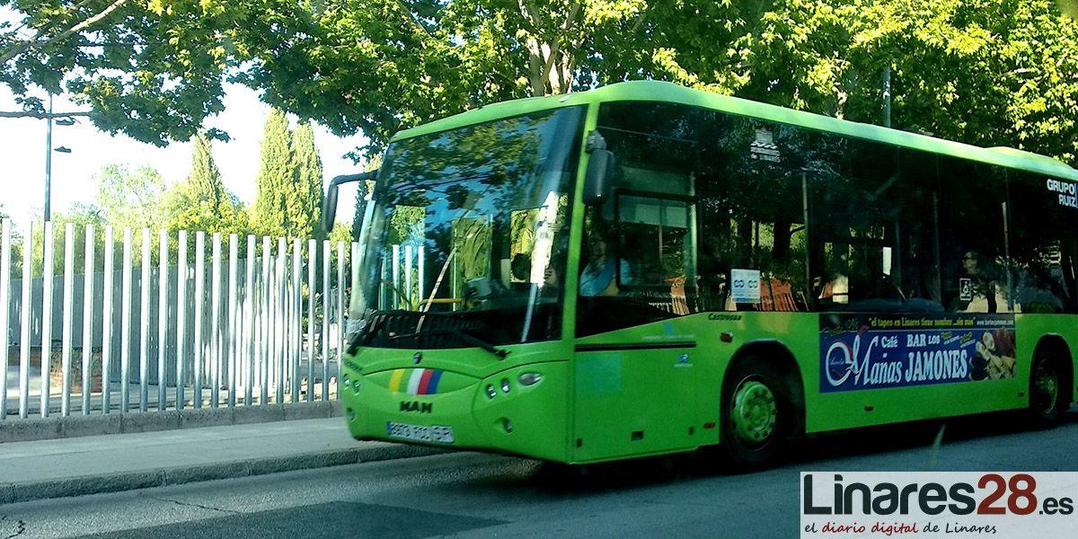 Linares refuerza el servicio de autobús urbano a sus cementerios