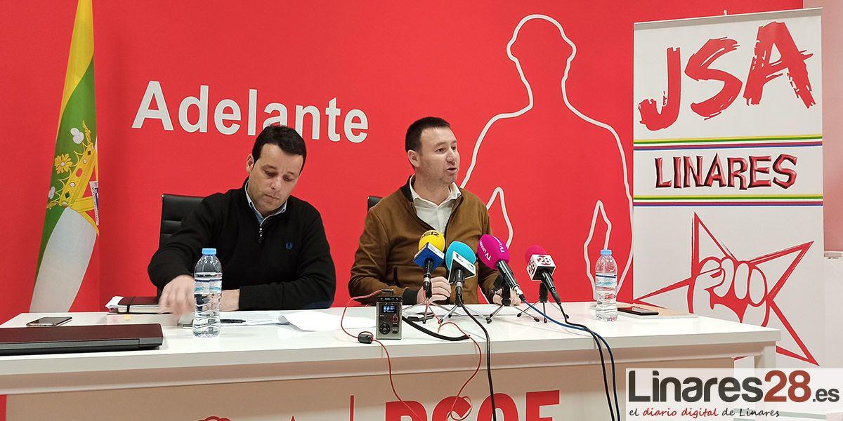 VÍDEO | El PSOE propone sus ejes prioritaros para la ITI en Linares