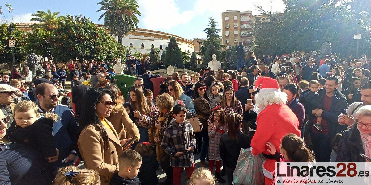 VÍDEO | Santa Margarita se viste de Navidad con la llegada adelantada de Papá Noel