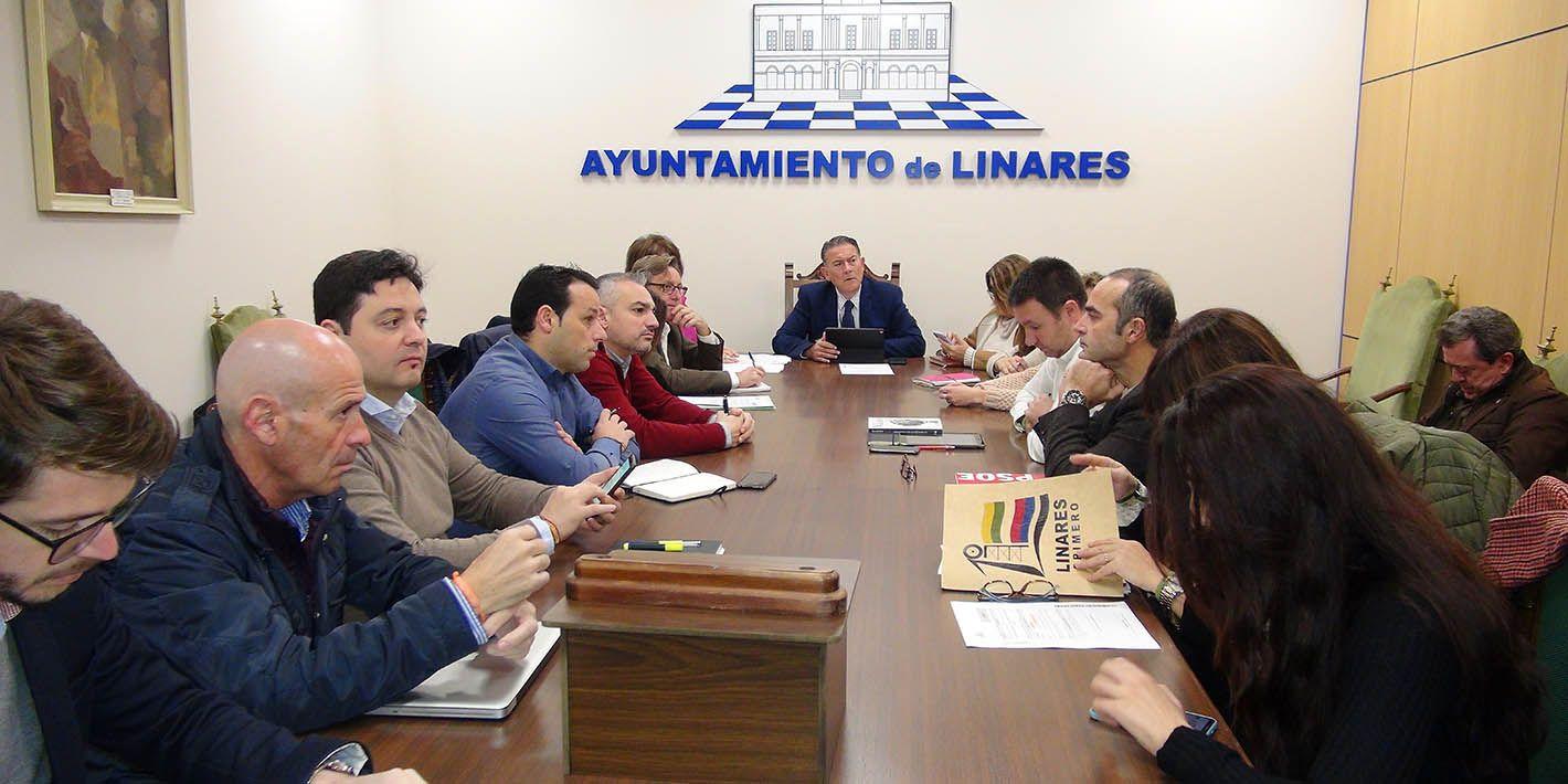El Pleno del Ayuntamiento de Linares aprueba por unanimidad la concertación con la Escuela de Seguridad Pública de Andalucía