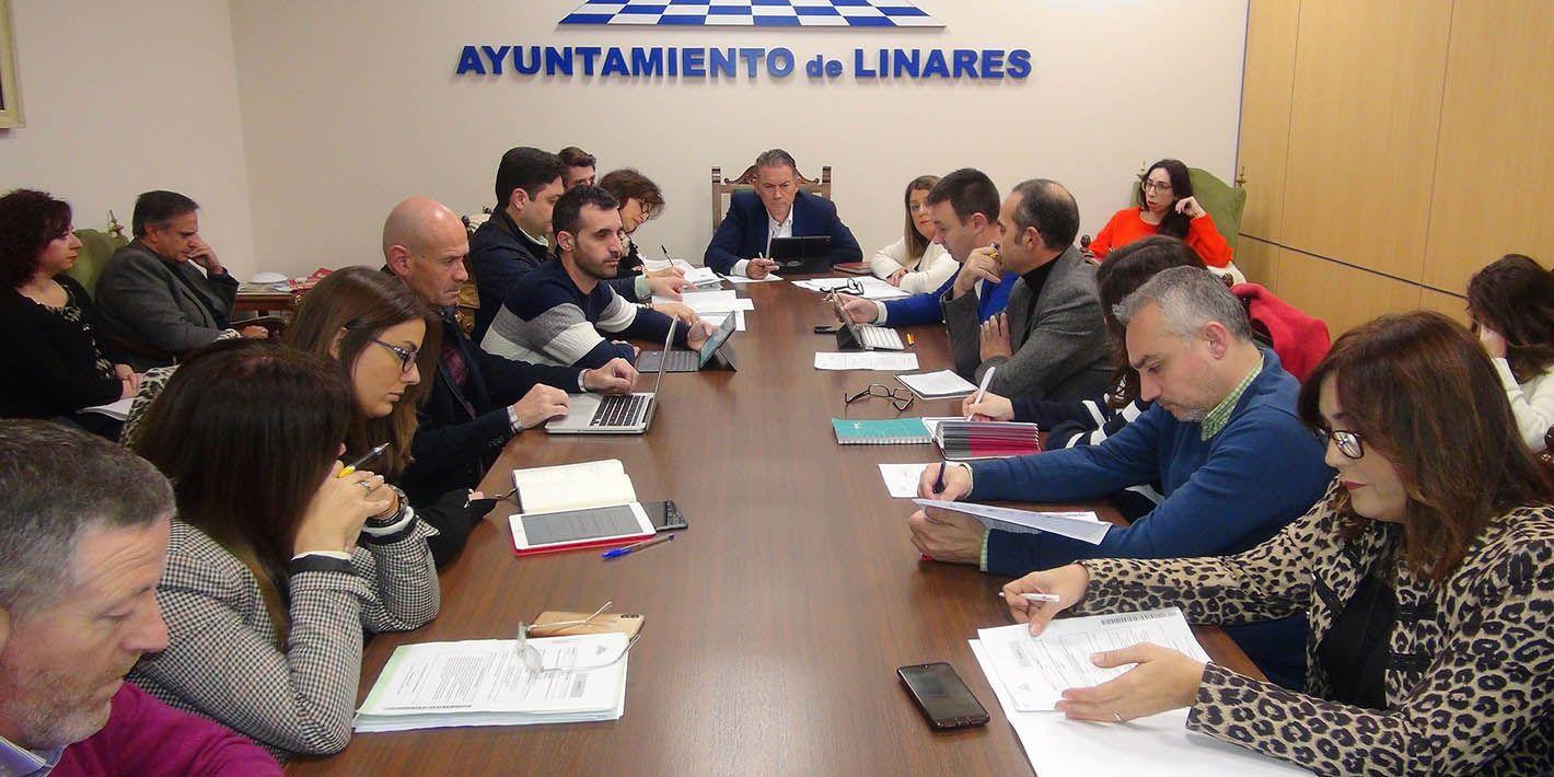 Linares da luz verde a una mayor ejecución presupuestaria