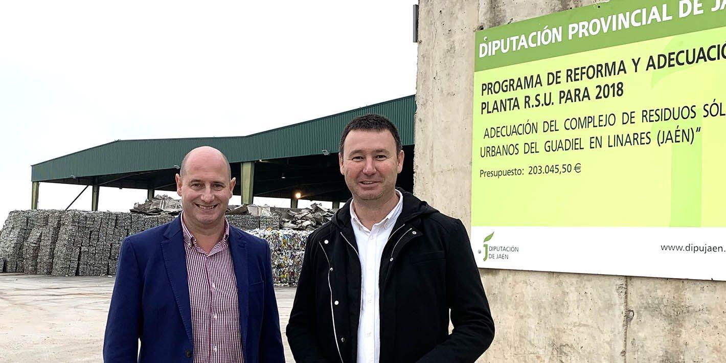 La Diputación destinará 310.000 euros a la ampliación del complejo de tratamiento de residuos de El Guadiel