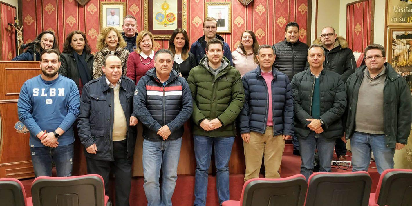 Reunión entre Ayuntamiento y la Agrupación de Hermandades y Cofradías de Linares