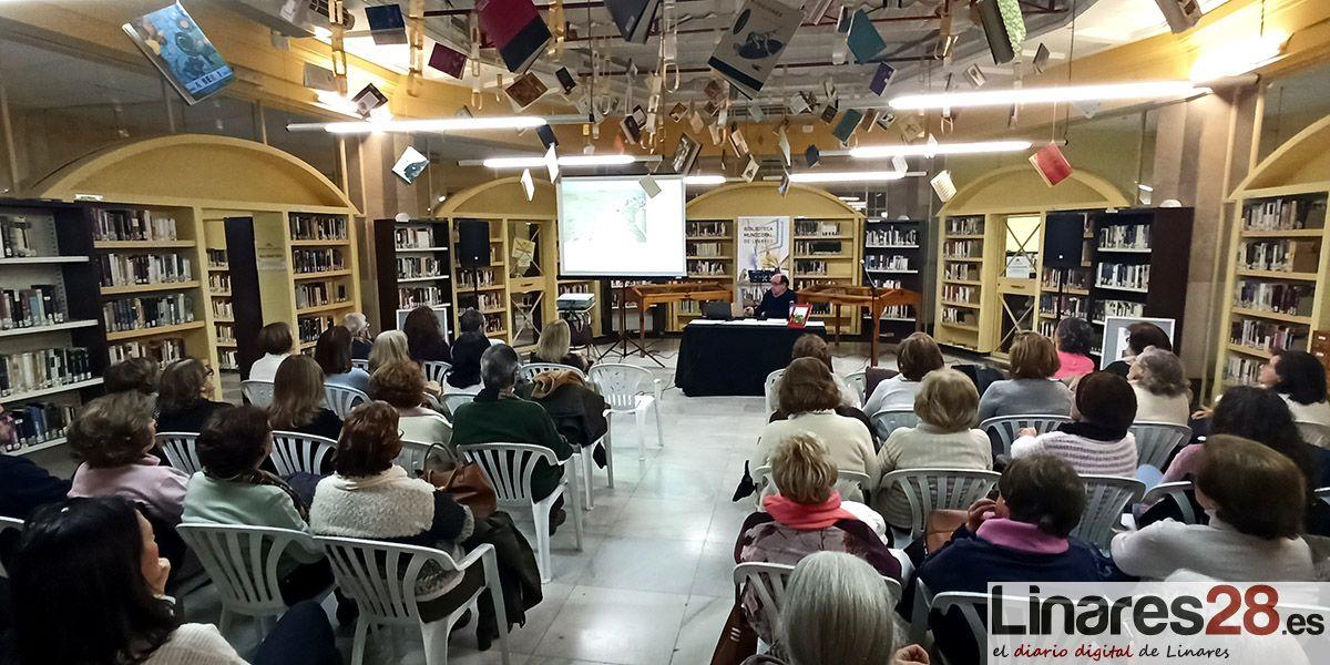 Natalio Camarero inicia el ciclo de encuentros con autor de la Biblioteca Municipal de Linares