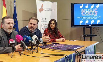 VÍDEO | El Conservatorio de Linares lanza la segunda edición del proyecto 'Musiccoles'