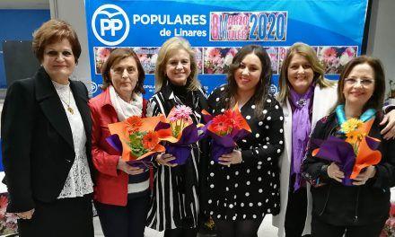 El PP reconoce la trayectoria personal y profesional de cuatro mujeres linarenses para conmemorar el 8M
