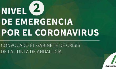 CRISIS CORONAVIRUS | Juanma Moreno eleva la situación al 'nivel 2' de emergencia y convoca el Gabinete de Crisis