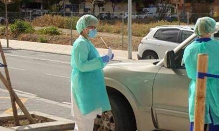 CRISIS CORONAVIRUS | El test para personal esencial sin bajarse del coche desde hoy en Linares