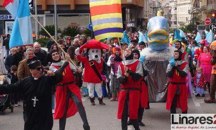 VÍDEOS | Linares pone fin a su Carnaval con el entierro de la Sardina