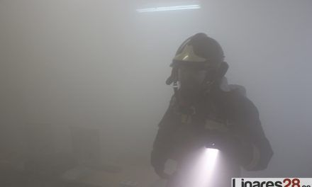 VÍDEOS | Espectacular simulacro de incendio en el IES Reyes de España
