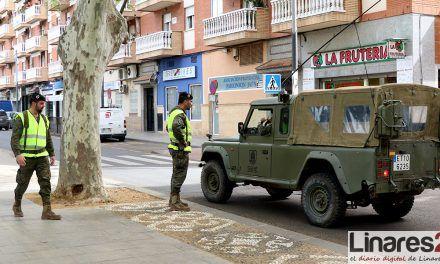 La subdelegada del Gobierno agradece a la UME y al Ejército su colaboración en la provincia de Jaén