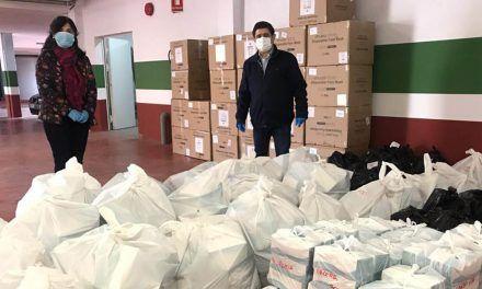 Diputación distribuye una nueva partida de 103.000 mascarillas entre los ayuntamientos de la provincia