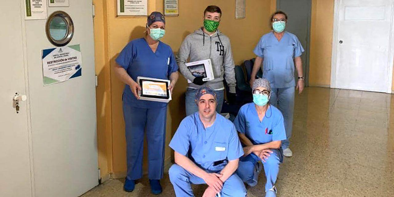 CRISIS CORONAVIRUS | El Hospital de Linares ofrece ya videollamadas entre los pacientes de COVID-19 y sus familiares