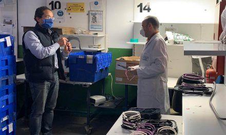 El IES Reyes de España de Linares se suma a la fabricación y distribución de material sanitario