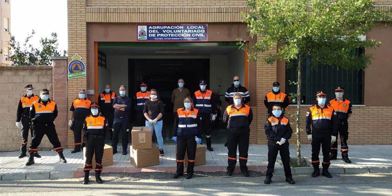CRISIS CORONAVIRUS | Linares repartirá de 8.550 mascarillas y 950 botes de hidrogel desde las asociaciones vecinales