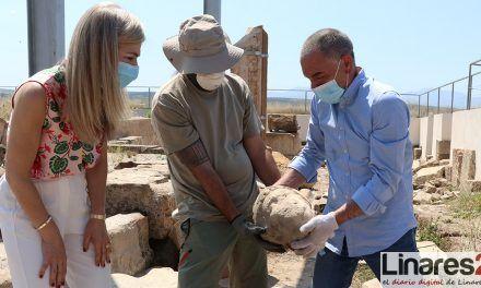 VÍDEO | Cástulo sigue deslumbrando con el hallazgo de una cabeza de mármol del siglo IV d.C.