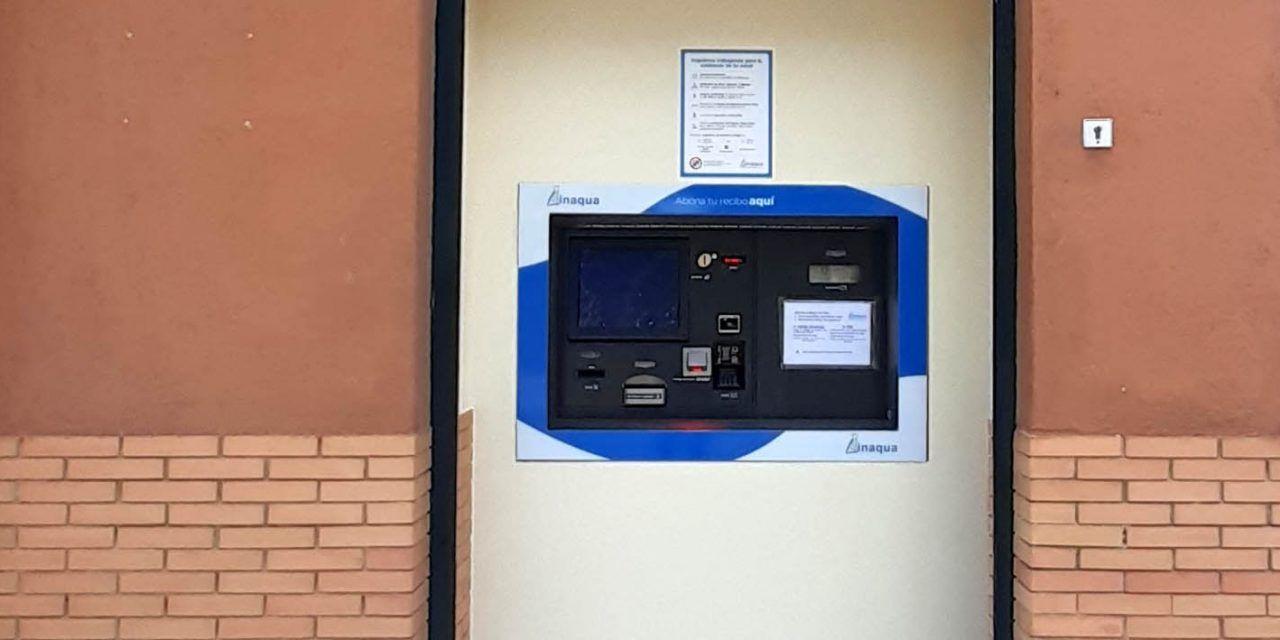 Linaqua reabre su oficina de atención al cliente y saca su cajero automático al exterior