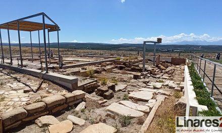 El Conjunto Arqueológico de Cástulo abre el martes con el requisito de solicitar cita previa