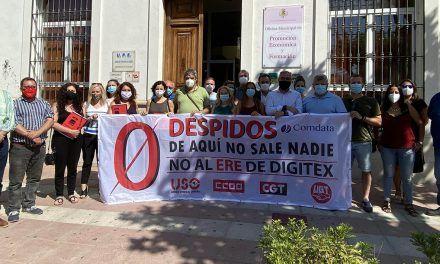 Los ayuntamientos de la Comarca Norte llevarán la voz de los trabajadores de Comdata a todas las instituciones