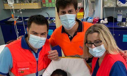 Nace en una ambulancia camino de Linares