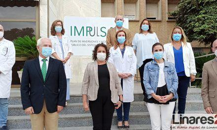 VÍDEO | La Junta invierte casi un millón de euros en Linares para acometer obras en infraestructuras sanitarias