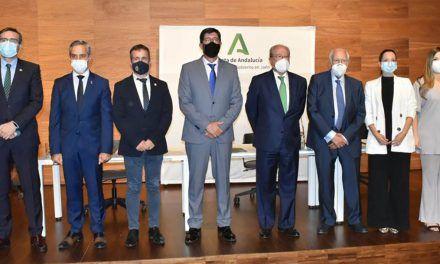 Acuerdo entre la Junta de Andalucía y la Caja Rural de Jaén para el impulso al progreso de la provincia