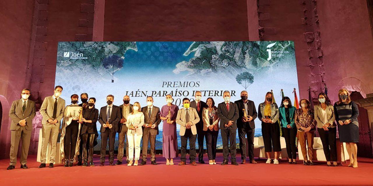Entregados los Premios Jaén 'Paraíso Interior' 2020
