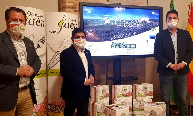 La Fiesta Virtual del Primer Aceite de Jaén acoge desde mañana el Mercado Navideño Degusta Jaén