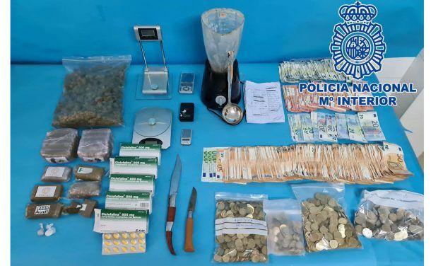 SUCESOS | Cuatro detenidos en Linares por presunto tráfico ilegal de drogas