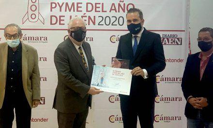 MLC recibe el premio 'Pyme del año 2020' de la Cámara de Comercio de Andújar