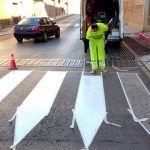 Linares acomete la renovación de cerca de medio millar de pasos de peatones