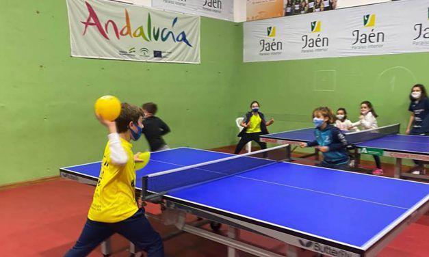 Linares alberga la primera concentración de talentos del tenis de mesa de la provincia