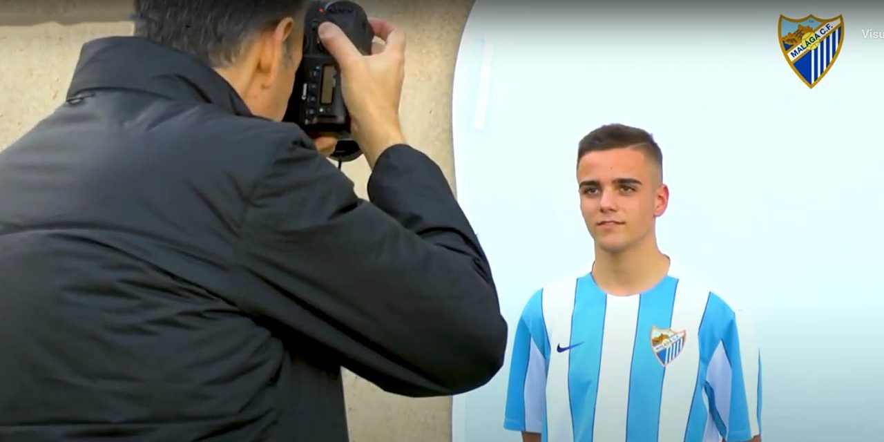 El joven linarense Ismael se consagra en el Málaga