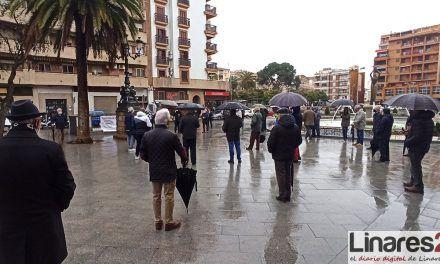 VÍDEO | La Plataforma en Defensa de las Pensiones Públicas de Linares también sale a la calle