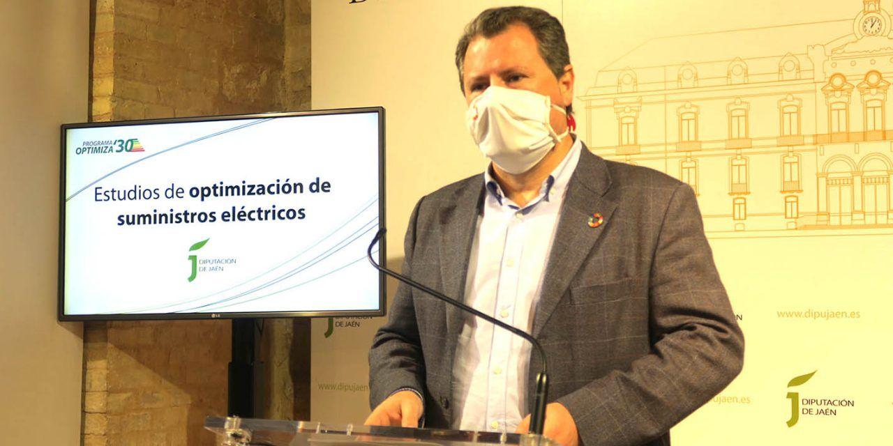 Diputación realiza un estudio para optimizar el suministro eléctrico de Linares