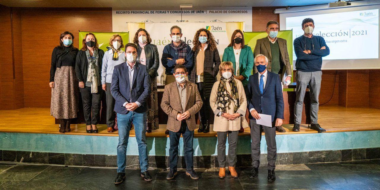 Diputación entrega el lunes los distintivos Jaén Selección 2021 a los mejores aceites de oliva virgen extra