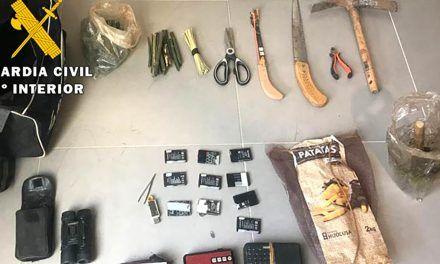 SUCESOS | Pillado en Linares tras la presunta captura de aves fringílidas