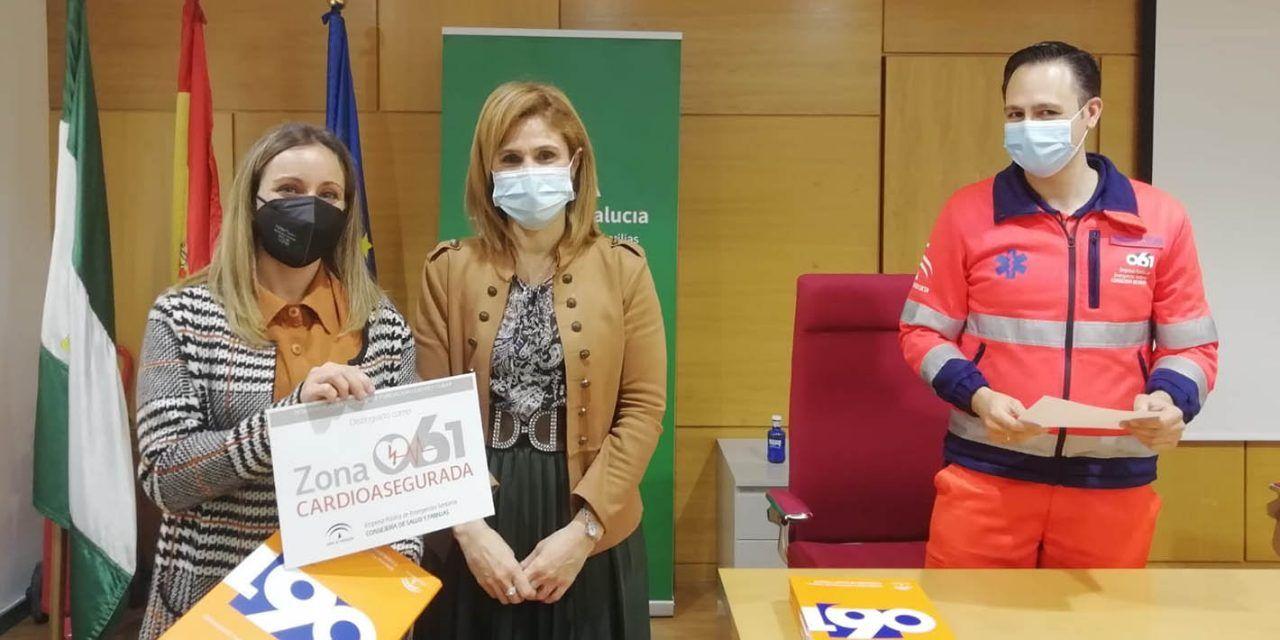 Dos nuevas entidades de Linares distinguidas como 'zonas cardioaseguradas'