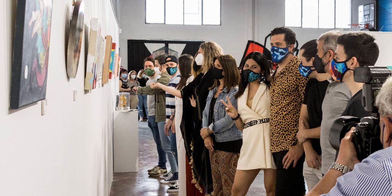 Cuarenta artistas de toda España muestran sus obras en la exposición colectiva OMG del Espacio Rampa