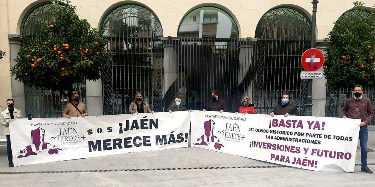"""'Jaén Merece Más' se dirige a la Comisión Europea por le """"oscurantismo"""" en la gestión de los 443 millones de euros de la ITI"""