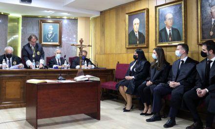 Cuatro nuevos letrados y letradas se incorporan al Colegio de Abogados de Jaén